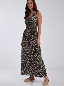 Floral maxi φόρεμα SH7971.8310+3