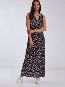 Floral maxi φόρεμα SH7971.8310+4