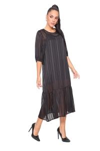 Φόρεμα Ανάλαφρο Σε Μαύρο