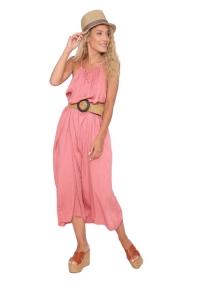 Φόρεμα Ανάλαφρο Σε Ροζ