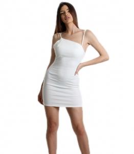 Φόρεμα εφαρμοστό μίνι τιράντα