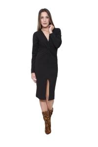 Φόρεμα Ελαστικό Σε Μαύρο