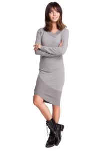 Φόρεμα μακρυμάνικο ασύμμετρο