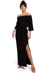 Φόρεμα μάξι με ελεύθερους
