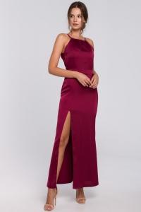Φόρεμα μάξι με ραντάκι και