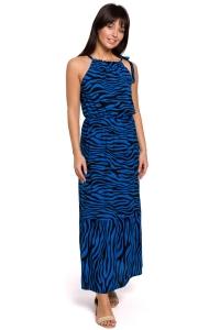 Φόρεμα μάξι με zebra print