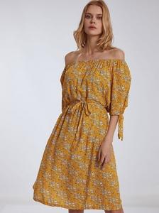 Φόρεμα με αποσπώμενη ζώνη SH7949.8611+1