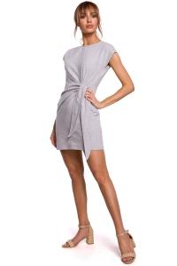Φόρεμα μίνι αμάνικο - Γκρι