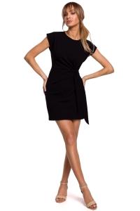 Φόρεμα μίνι αμάνικο - Μαύρο