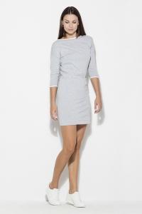 Φόρεμα μίνι - Γκρι