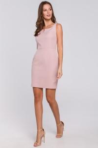 Φόρεμα μίνι με τετράγωνη λαιμόκοψη