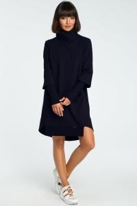 Φόρεμα μίντι ασύμμετρο ζιβάγκο