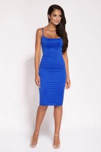 Φόρεμα μίντι εφαρμοστό με