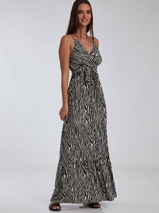 Φόρεμα σε animal print SH1539.8971+2