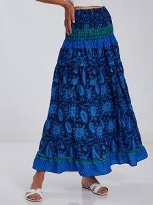 Φούστα φόρεμα με σφηκοφωλιά SH9845.2048+1