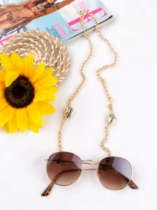 GOLD SEASHELL CHAIN FOR SUNNIES