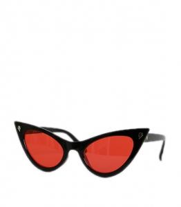 Γυαλιά Cat-Eye μαύρη μάσκα