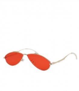 Γυαλιά ηλίου γατίσια με κόκκινο