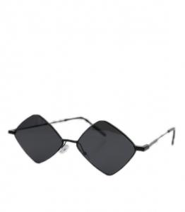 Γυαλιά ηλίου ρόμβος με μαύρο σκελετό και μαύρο φακό (Μαύρο)