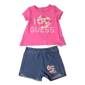 GUESS KIDS - Βρεφικό σετ μπλούζα