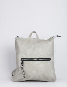 Γυναικεία γκρι τσάντα πλάτης