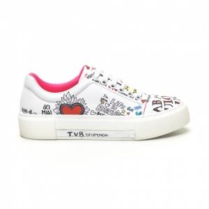 Γυναικεία λευκά sneakers Bodrum