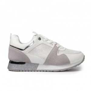 Γυναικεία λευκά sneakers με