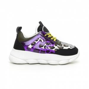 Γυναικεία μαύρα αθλητικά παπούτσια