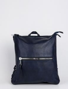 Γυναικεία μπλε τσάντα πλάτης