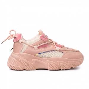 Γυναικεία ροζ Chunky sneakers
