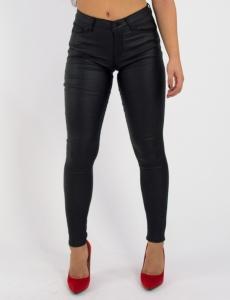 Γυναικείο μαύρο ελαστικό παντελόνι