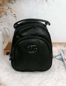 Γυναικείο μαύρο mini Backpack