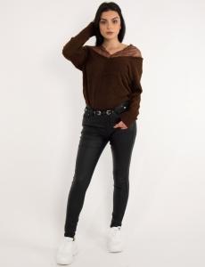 Γυναικείο μαύρο παντελόνι