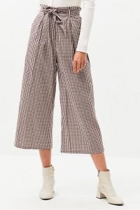 Γυναικείο Παντελόνι Minkpink - Gingham Wide Leg