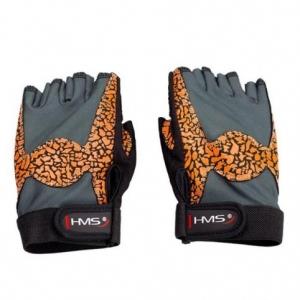 Gym Gloves Oragne / Gray W