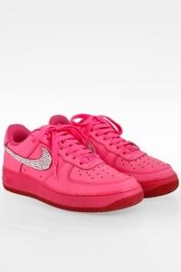 Hot Pink Air Force 1 Δερμάτινα
