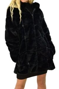 Jacket Γούνινο Σε Μαύρο