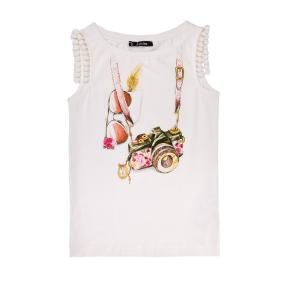 JAKIOO - Παιδικό αμάνικο μπλουζάκι