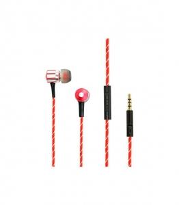 Κόκκινα ακουστικά Fashion