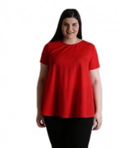 Κόκκινη μπλούζα oversized