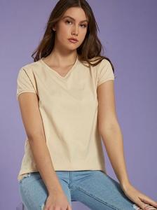 Κοντομάνικη μπλούζα με βαμβάκι SH9844.4301+4