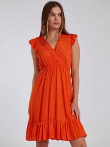 Κρουαζέ φόρεμα με βολάν SH1539.8731+5