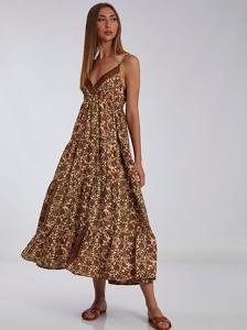 Κρουαζέ maxi φόρεμα SH9845.8155+4