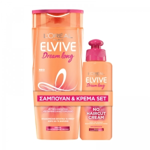L'ORÉAL PARIS ELVIVE DREAM LONG SHAMPOO + NO HAIRCUT CREAM