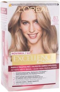 L´oréal Paris Excellence Creme Triple Protection Hair Color 8,1 Natural Ash Blonde 48ml