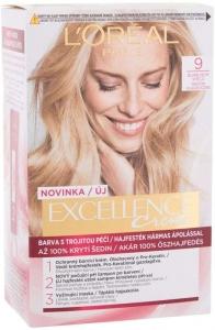 L´oréal Paris Excellence Creme Triple Protection Hair Color 9 Natural Light Blonde 48ml