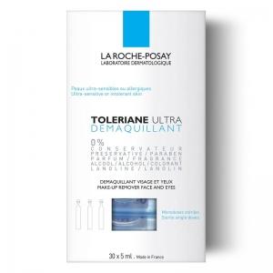 LA ROCHE-POSAY TOLERIANE ULTRA DEMAQUILLANT 30x5ml