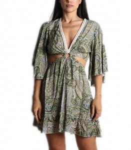 Λαχούρ φόρεμα sahara (Πράσινο)
