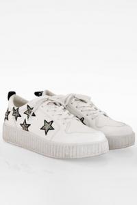 Λευκά Daisy Sneakers με Αστέρια