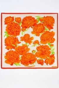 """Λευκό-Πορτοκαλί """"Les Pivoines"""""""
